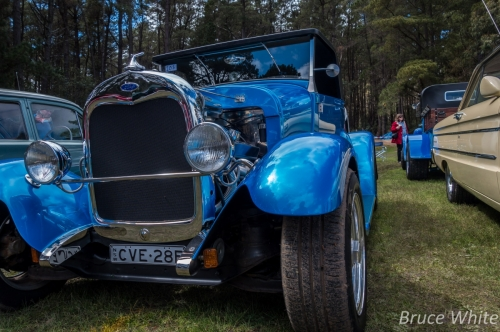 20150927 CarShow HillView Supermoon 23