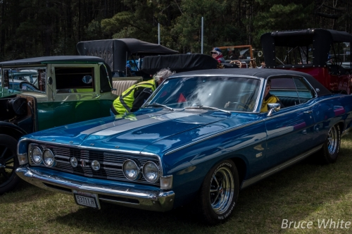 20150927 CarShow HillView Supermoon 36