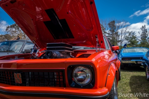 20150927 CarShow HillView Supermoon 42